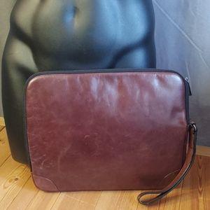 Zars Man Leather Envelope Clutch